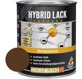 Buntlack Hybridlack Möbellack glänzend RAL 8011 nußbraun 750 ml