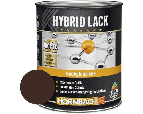 Buntlack Hybridlack Möbellack glänzend RAL 8017 schokobraun 375 ml