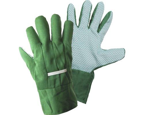 Gartenhandschuhe mit Noppen Universalgröße, 1 Paar, grün
