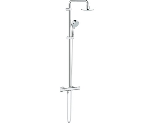 Duschsystem GROHE New Tempesta Cosmopolitan System 160 27922000 chrom mit Thermostat