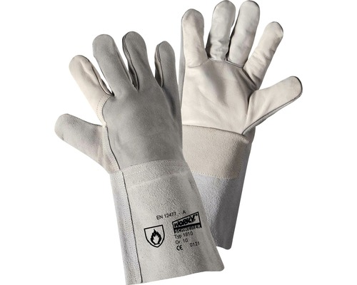Schweißerhandschuhe Arco-35 weiß Gr. 10