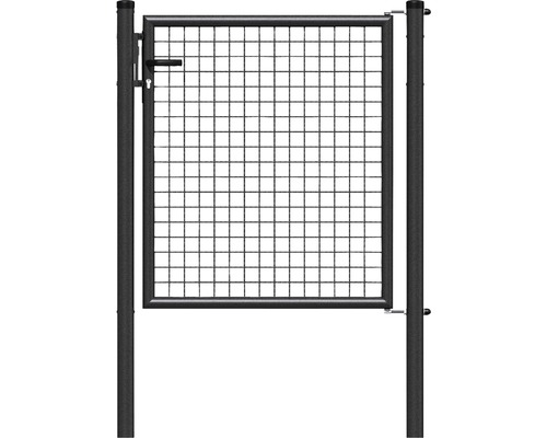 Wellengittertor 100 x 150 cm, anthrazit