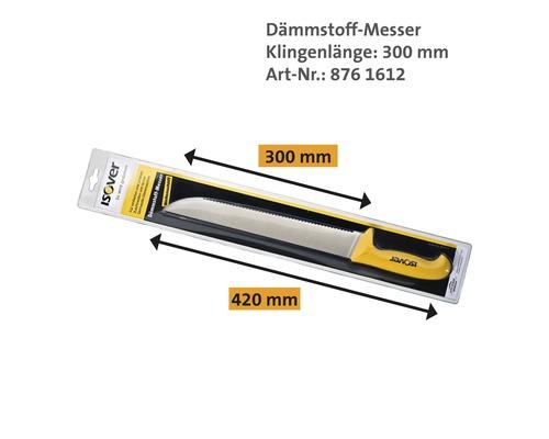 Dämmstoffmesser ISOVER mit Wellenschliff 300 mm