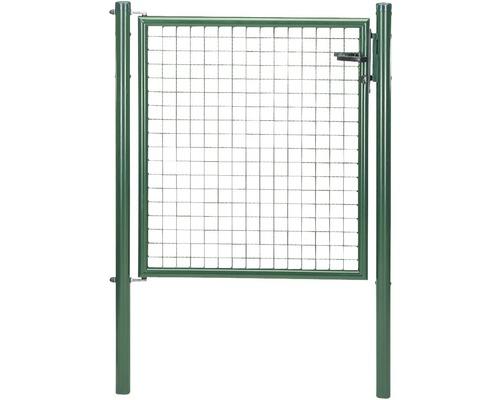 Wellengittertor 100 x 100 cm, grün
