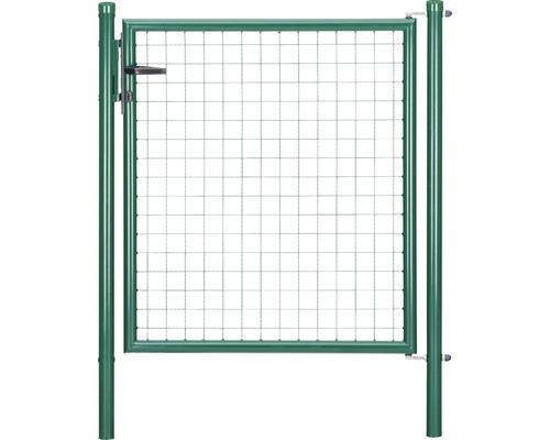 Wellengittertor 100 x 150 cm, grün