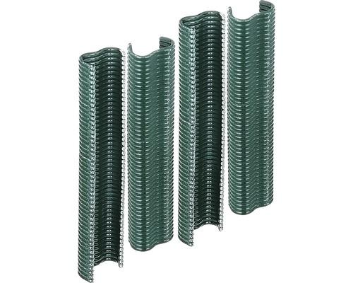 Drahtklammern 2,2 cm, 200 Stück, grün