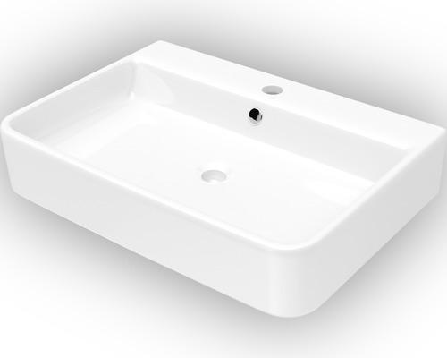 Jungborn Waschtisch Salvi 55,5 cm weiß mit Nano Beschichtung