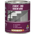 Zementfarbe Bodenfarbe hellgrau 750 ml
