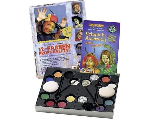 Aqua Profi Make-up Schminkpalette 12 Farben