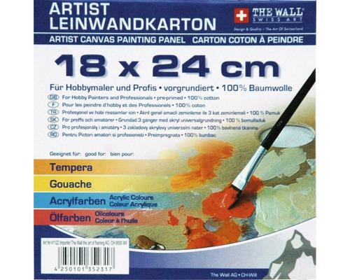 Malkarton 18x24 cm