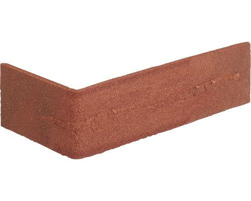 Verblendstein-Ecke Nuance rot 24x7,1 cm Elastolith