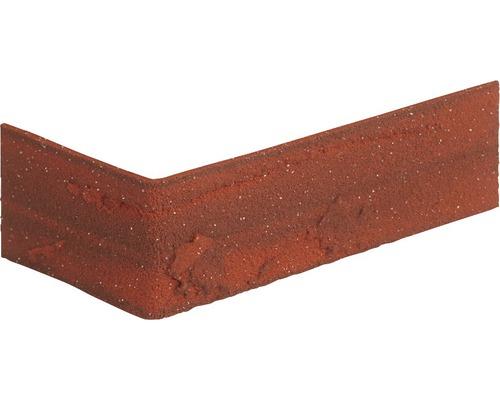 Verblendstein-Ecke Altrot 24x7,1 cm Elastolith