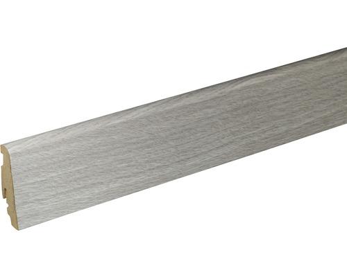 Sockelleiste Skandor Chalk Hickory FU60L 19x59x2400 mm