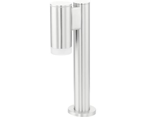 LED Außenstehleuchte 1x3W 200 lm 4000 K warmweiß H 355 mm edelstahl/satiniert