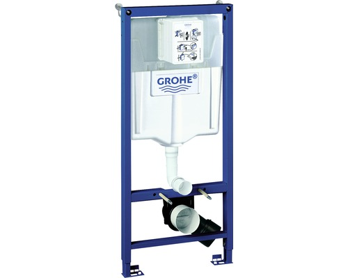 Vorwandelement GROHE Rapid SL für WC mit Spülkasten und Wandwinkel H:113cm 38536001