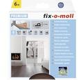 P-Profildichtung fix-o-moll selbstklebend braun 6 m 5,5 x 9 mm