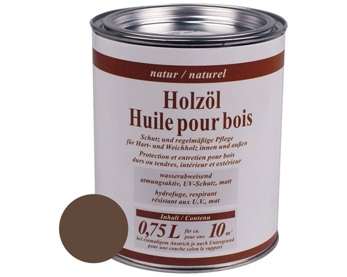 Holzöl innen und aussen 750 ml