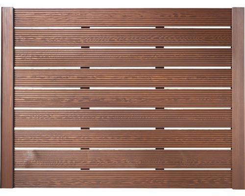 Zaunelement BuildiFix-Zauntyp C 180x135 cm braun