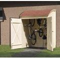 Fahrrad- und Mehrzweckbox weka Biel 160x134x223 cm natur
