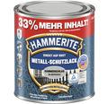 HAMMERITE Hammerschlaglack Effektlack Silbergrau 1 l (33 % mehr Inhalt!)