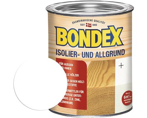 BONDEX Isolierfarbe Allgrund weiß 750 ml