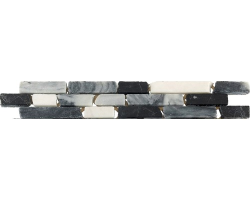 Marmorbordüre CM-57103 Anthrazit 30,5x4,9 cm