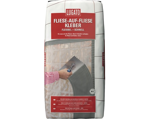 Flexkleber Lugato Fliese auf Fliese 20 kg