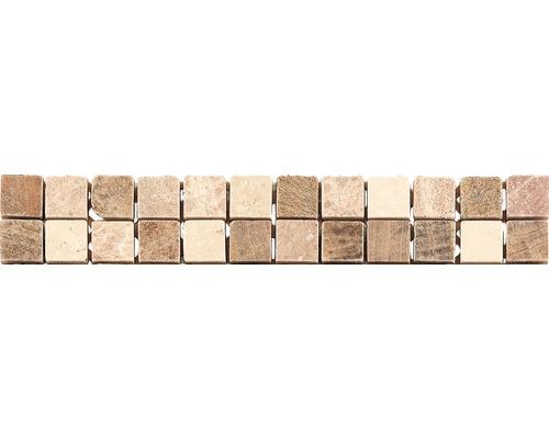 Marmorbordüre CM-57106 Braun 30,5x4,9 cm