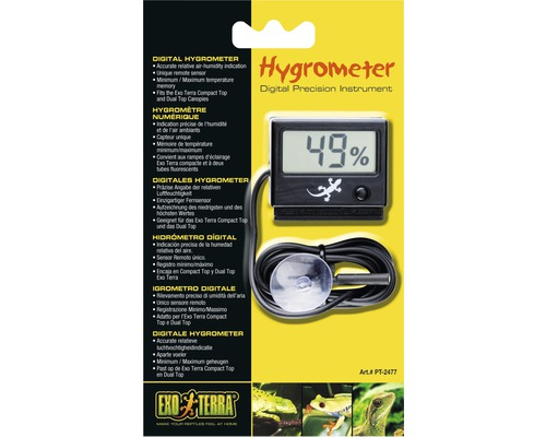 Hygrometer Exo Terra LED, digital