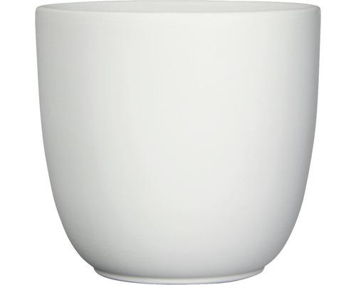 Übertopf Tusca D 28 x H 25 cm matt weiß