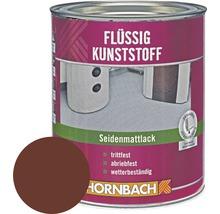 Flüssigkunststoff seidenmatt rotbraun 750 ml