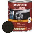 Hammerschlaglack Effektlack 3in1 glänzend schwarz 250 ml