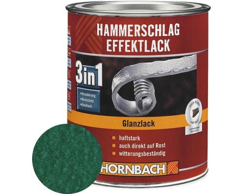 Hammerschlaglack Effektlack 3in1 glänzend dunkelgrün 250 ml