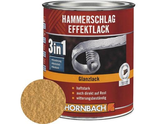 Hammerschlaglack Effektlack 3in1 glänzend kupfer 2,5 l