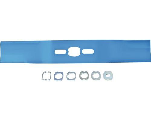 Universalmesser für verschiedene Rasenmähertypen 40 cm Schnittbreite