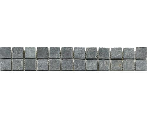 Natursteinbordüre CM-57114 Anthrazit 30,5x4,8 cm