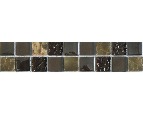 Bordüre GL-52498 Braun 29,8x4,8 cm