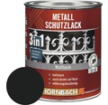 Metallschutzlack 3in1 matt schwarz 750 ml