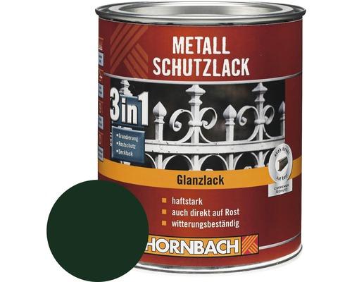 Metallschutzlack 3in1 glänzend dunkelgrün 2,5 l