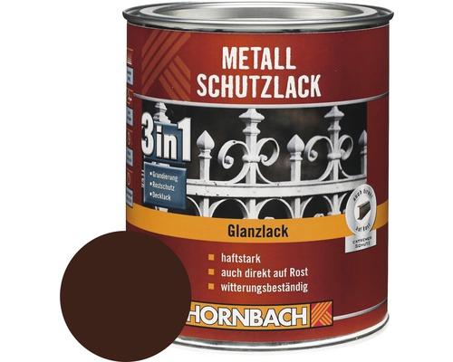 Metallschutzlack 3in1 glänzend braun 2,5 l