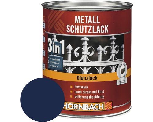 Metallschutzlack 3in1 glänzend blau 250 ml