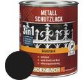 Metallschutzlack 3in1 glänzend schwarz 250 ml
