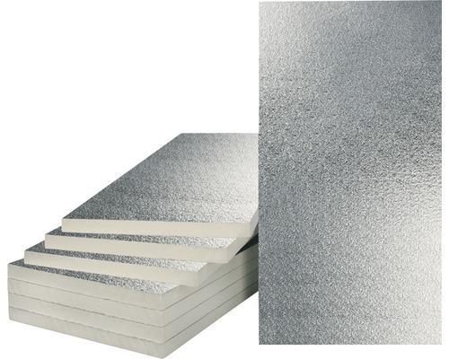 BACHL Mehrzweckdämmplatte PUR/PIR beidseitig Aluminium kaschiert, stumpf 1250 x 625 x 20 mm