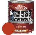 Metallschutzlack 3in1 matt rot 250 ml