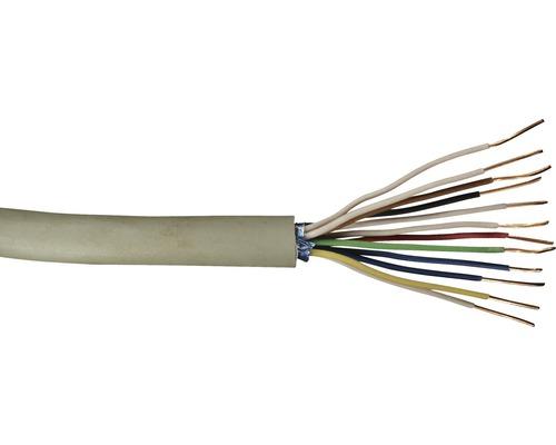 Telefonleitung JY(ST)Y 6x2x0,6 mm² 20 m grau