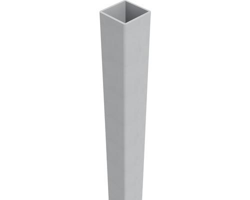 Pfosten Belfort 6 x 6 x 150 cm, EV 1, alugrau