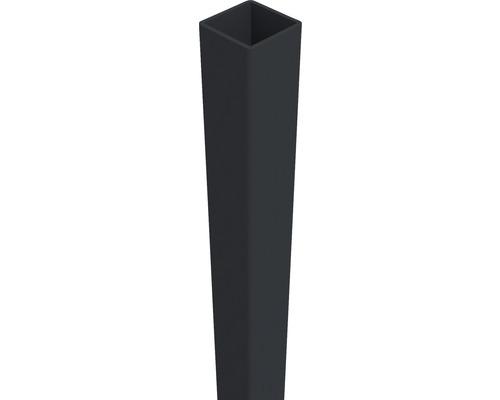 Pfosten Belfort 6 x 6 x 150 cm, anthrazit