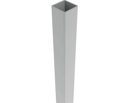 Pfosten Belfort 6 x 6 x 190 cm, silbergrau