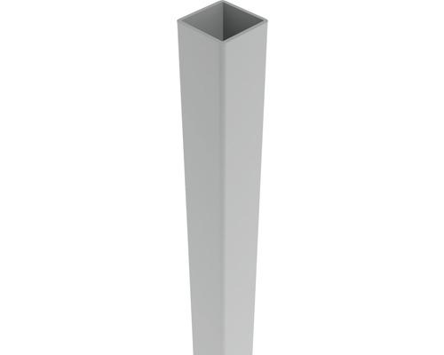 Pfosten Belfort 6 x 6 x 100 cm, silbergrau