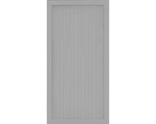 Hauptelement BasicLine Typ A 90 x 180 cm, silbergrau